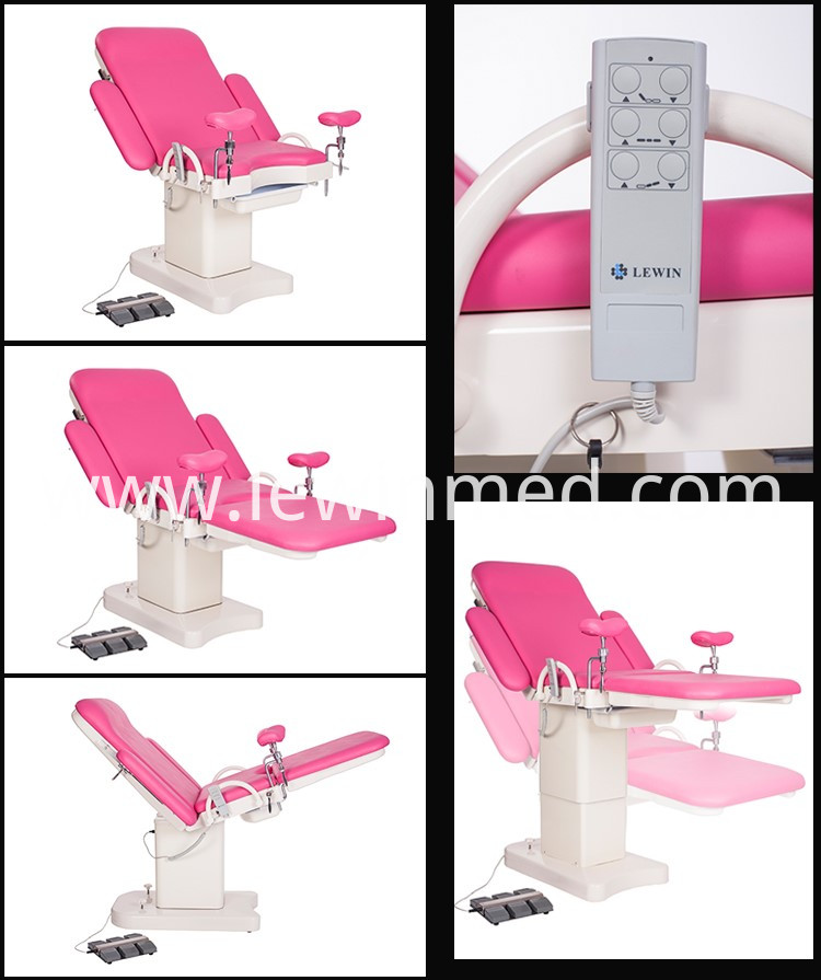 Obstetric gynecology delivery bed